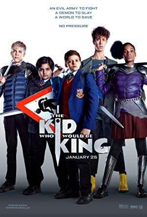 The Kid Who Would Be King poster